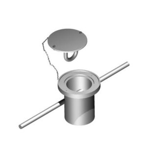 Vertical Rigging Sleeve (Flush Mounted) Cast-In-Place